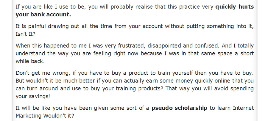 Earn While You Learn Is Like A pseudo-scholarship