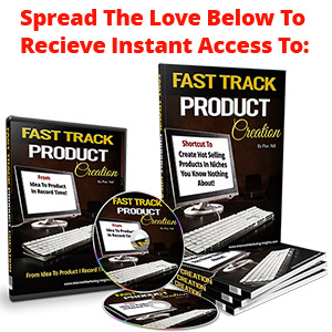 Product Creation Fast Track